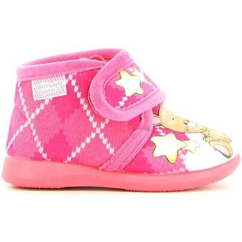 Shoes Girl Slippers Grunland PA0484 Slippers Kid Fuchsia Fuchsia