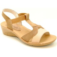 Shoes Women Sandals Relax 4 You bsw15074 marron