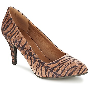 Shoes Women Heels Moony Mood LENI TAUPE