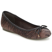 Shoes Women Flat shoes Moony Mood LIESA Brown