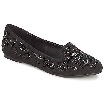Shoes Women Loafers Moony Mood LUDIA Black
