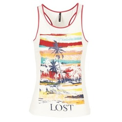 Clothing Women Tops / Sleeveless T-shirts Smash PISSARO White