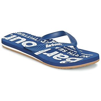 Shoes Men Flip flops Barbour NORTH SEA BEACH SANDAL Blue