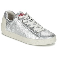 Shoes Women Low top trainers Ash NICKY Silver