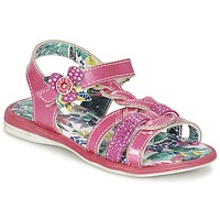Shoes Girl Sandals Catimini PEKANS Pink