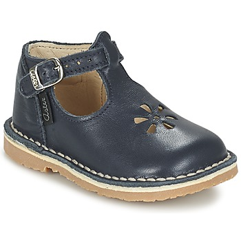 Shoes Girl Flat shoes Aster BIMBO Blue