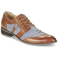 Shoes Men Derby Shoes Kdopa AGADIR CAMEL / Blue