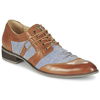 Shoes Men Derby Shoes Kdopa AGADIR Camel / Blue