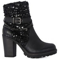 Shoes Women Ankle boots Replay TRONCHETTO DONNA Nero
