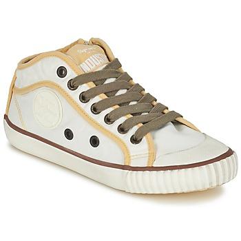Shoes Women Low top trainers Pepe jeans INDUSTRY BEIGE