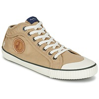 Shoes Men Hi top trainers Pepe jeans INDUSTRY EARTH CAMEL