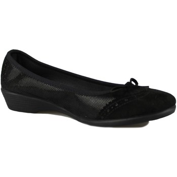 Shoes Women Flat shoes Vulladi SERRAJE LETINA BLACK