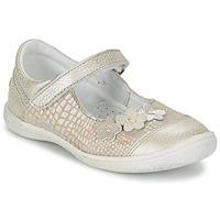Shoes Girl Flat shoes GBB PRATIMA Grey / Silver