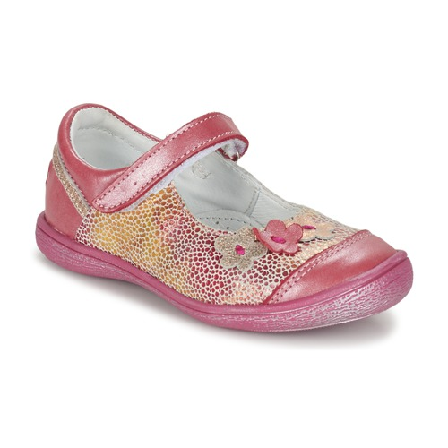 Shoes Girl Flat shoes GBB PRATIMA Vte / Coral