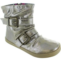 Shoes Women Mid boots Blowfish ranuku ii women's metallic bronze relax zip up ankle buckle boo Bronze