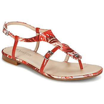 Shoes Women Sandals JB Martin GAELIA Red / Tropical