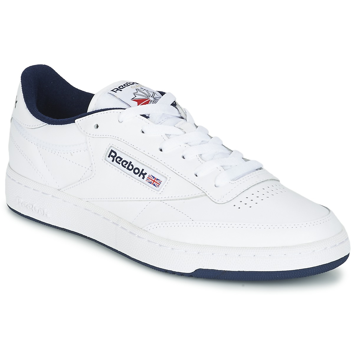 reebok classic club c 85 white blue free delivery with. Black Bedroom Furniture Sets. Home Design Ideas