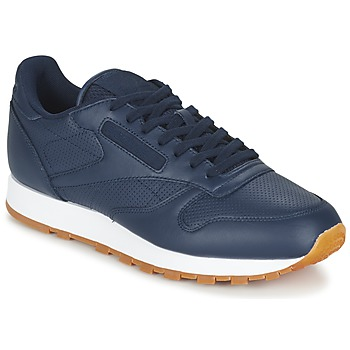 Shoes Men Low top trainers Reebok Classic CL LEATHER PG Blue