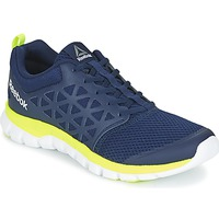 Shoes Men Fitness / Training Reebok Sport SUBLITE XT CUSHION Blue / Yellow