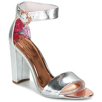 Shoes Women Sandals Ted Baker SECOA SILVER / METALLIC / Leather