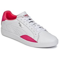 Shoes Women Low top trainers Puma WNS MATCH LO BASIC.W White-PURPLE