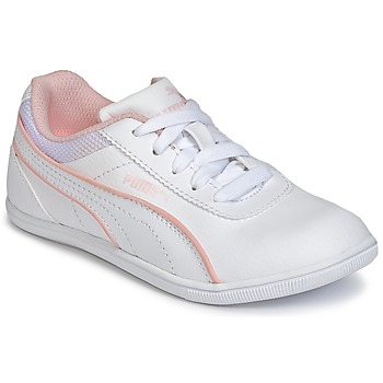 Shoes Girl Low top trainers Puma JR MYNDY 2 SL.WHT White