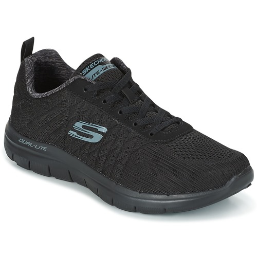 Shoes Men Low top trainers Skechers Flex Advantage 2.0 The Happs  BLACK