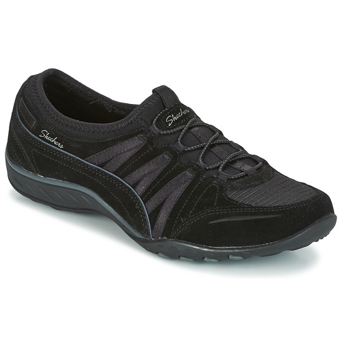 Shoes Women Low top trainers Skechers Breathe-Easy Moneybags  black