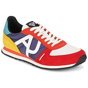 Shoes Men Low top trainers Armani jeans JAMPRA Multicoloured