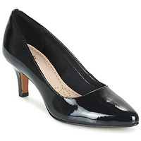 Shoes Women Heels Clarks ISIDORA FAYE  BLACK / Patent