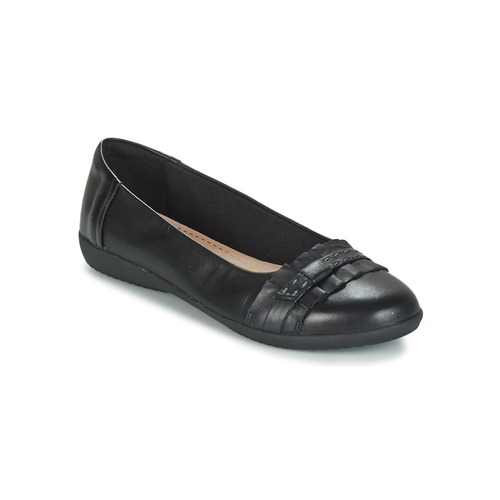 Shoes Women Flat shoes Clarks FEYA ISLAND Black