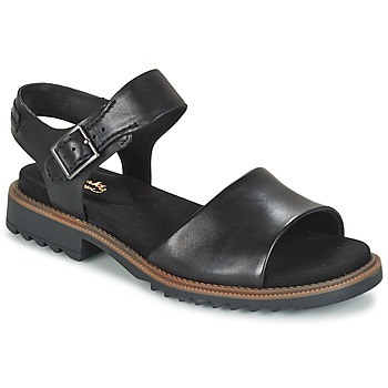 Shoes Women Sandals Clarks FERNI FAME  BLACK / Leather
