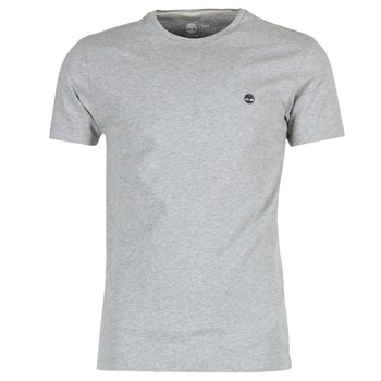 Clothing Men Short-sleeved t-shirts Timberland SS DUNSTAN RIVER CREW TEE Grey