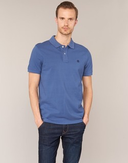 Clothing Men short-sleeved polo shirts Timberland SS MILLERS RIVER PIQUE REG POLO Blue