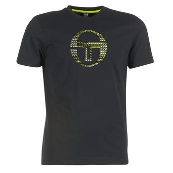Clothing Men short-sleeved t-shirts Sergio Tacchini DAVE TEE-SHIRT Black