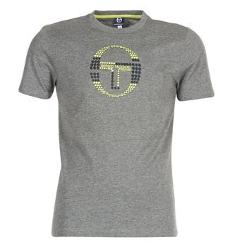 Clothing Men short-sleeved t-shirts Sergio Tacchini DAVE TEE-SHIRT Grey