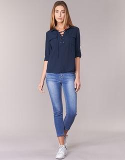 Clothing Women slim jeans Best Mountain ROSEPELLE Blue / Medium