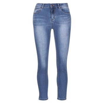 Clothing Women slim jeans Best Mountain ROSEPELLE Blue / MEDIUM