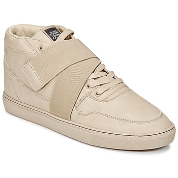 Shoes Men Hi top trainers Sixth June NATION STRAP Beige
