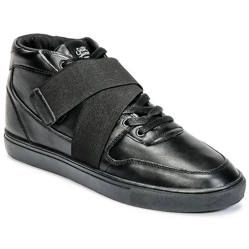 Shoes Men Hi top trainers Sixth June NATION STRAP Black