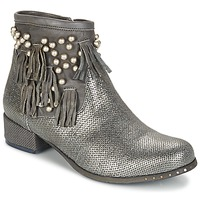 Shoes Women Mid boots Mimmu MOONSTROP TAUPE / Silver