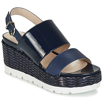 Shoes Women Sandals Luciano Barachini TOUDOU Blue