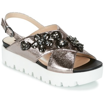 Shoes Women Sandals Luciano Barachini TANITI Grey