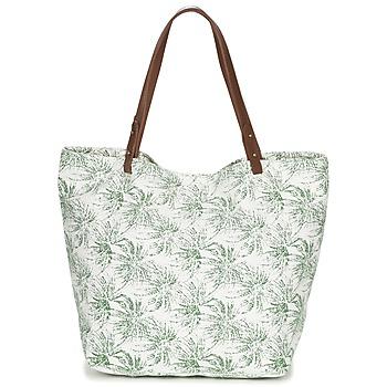 Bags Women Shopping Bags / Baskets Petite Mendigote CLEA ECRU / KAKI