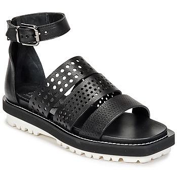 Shoes Women Sandals Now PADOU Black