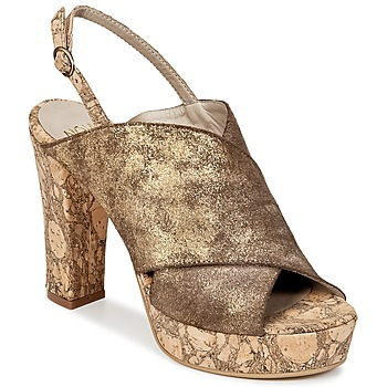 Shoes Women Clogs Now PALISSA Bronze