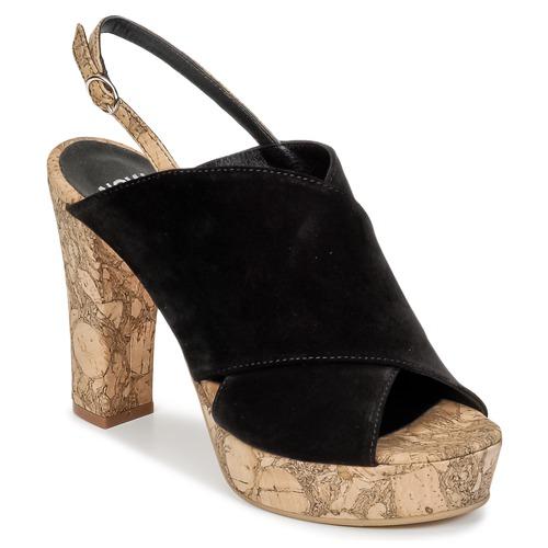 Shoes Women Clogs Now PAPIRON Black