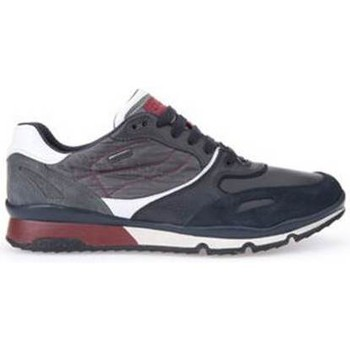 Shoes Men Low top trainers Geox U Sandro B Abx A Navy blue
