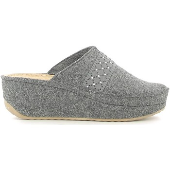 Shoes Women Slippers Grunland CI1079 Slippers Women Anthracite Anthracite