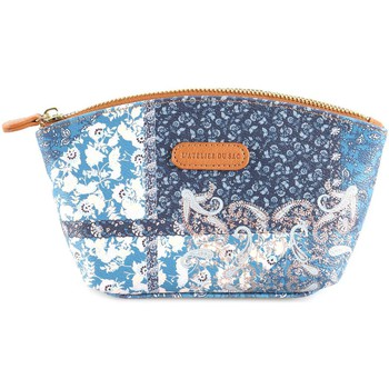 Bags Women Vanity cases L'atelier Du Sac 4691 Beauty Accessories Blue Blue